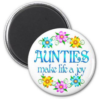 Auntie Joy Refrigerator Magnet