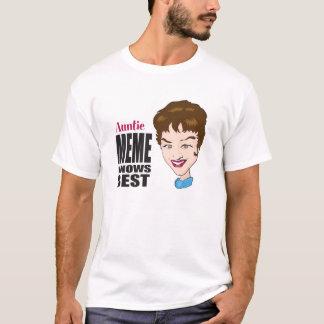 Auntie Meme Knows Best T-Shirt