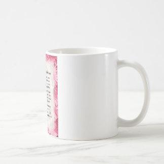 Auntie poem - Pink Floral design Coffee Mug