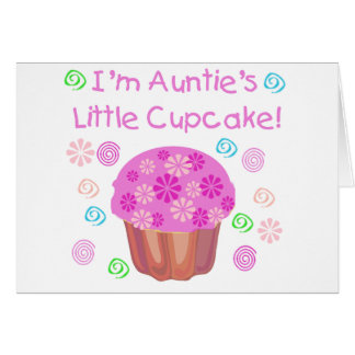 Auntie s Cupcake Card