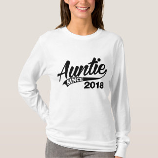 Auntie Since 2018 T-Shirt