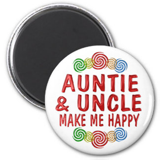 Auntie Uncle Happiness Fridge Magnets