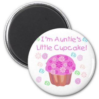 Auntie's Cupcake 6 Cm Round Magnet