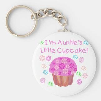 Auntie's Cupcake Key Ring
