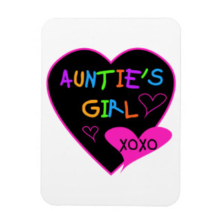 Aunties Girl t shirts mugs hats and more Magnets