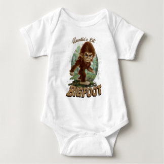 Auntie's Little Bigfoot Baby Bodysuit