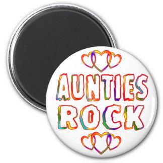 Aunties Rock Magnet