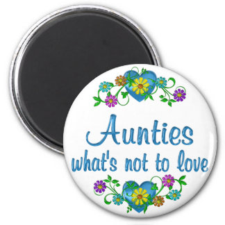 Aunties to Love Fridge Magnets