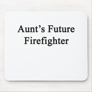 Aunt's Future Firefighter Mouse Pad