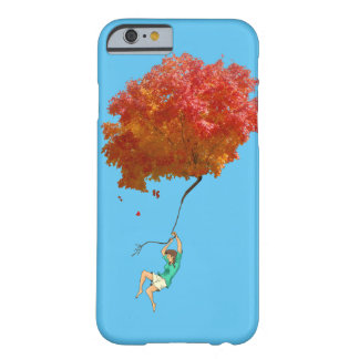 AUNTUMN LEAVES AND GIRL by Slipperywindow Barely There iPhone 6 Case