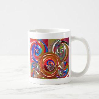 Aura Cleaning Circles - Reiki Meditation Mandala 7 Coffee Mug