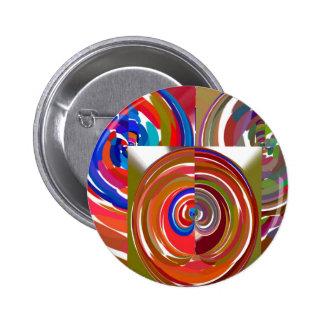 Aura Cycles - Color Therapy n Meditation Mandala 1 Pins