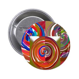 Aura Cycles - Color Therapy n Meditation Mandala 1 6 Cm Round Badge