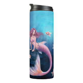Aurelia Goldfish Mermaid Thermal Tumbler