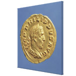 Aureus  of Philip the Arab Canvas Prints
