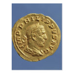 Aureus  of Philip the Arab Postcard