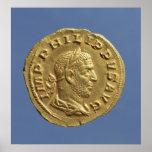 Aureus  of Philip the Arab Poster