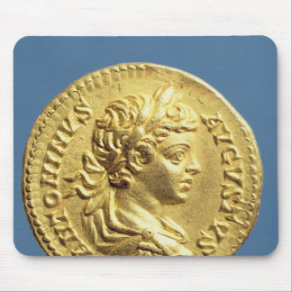 Aureus  with head of Carcalla  grapes Mouse Pad
