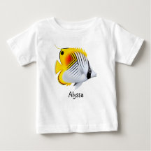 Auriga Butterfly Fish Baby Jersey Shirt