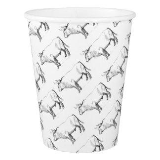 Aurochs Paper Cup