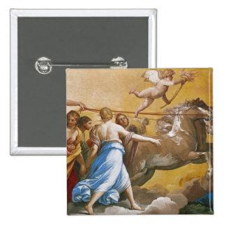 Aurora, 1613-14 15 cm square badge