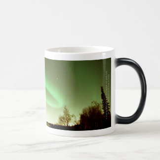 Aurora Arc Over Anchorage Morphing Mug