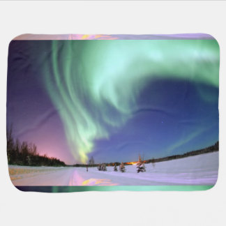Aurora - Beautiful Northern Lights Baby Blanket