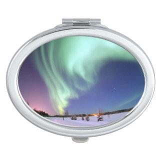 Aurora - Beautiful Northern Lights Makeup Mirror