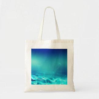 Aurora blue tote budget tote bag