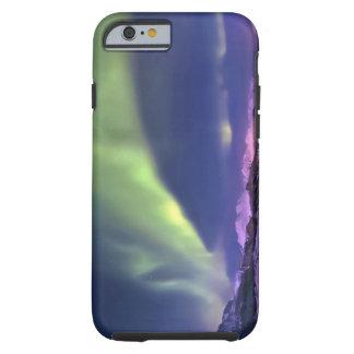 Aurora Borealis above Lyngenfjorden Norway Tough iPhone 6 Case