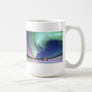 Aurora Borealis - Bear Lake, Alaska Coffee Mug