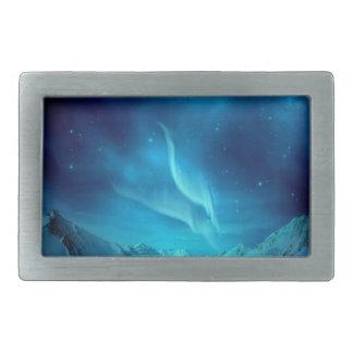 Aurora Borealis Belt Buckle
