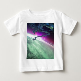 Aurora Borealis from space Baby T-Shirt