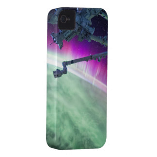 Aurora Borealis from space Case-Mate iPhone 4 Case