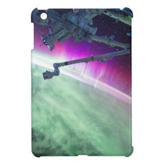 Aurora Borealis from space iPad Mini Cover