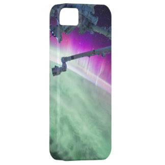 Aurora Borealis from space iPhone 5 Cover