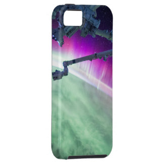 Aurora Borealis from space Tough iPhone 5 Case