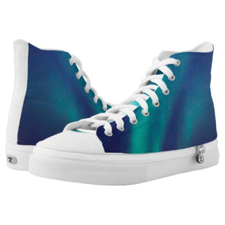 Aurora Borealis High Tops