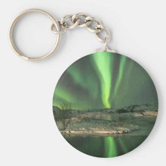 Aurora Borealis Iceland Keychain