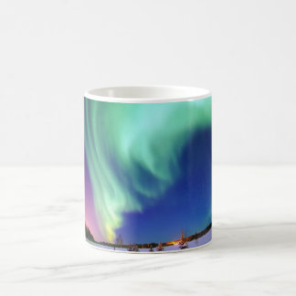 Aurora Borealis in Alaska Coffee Mug