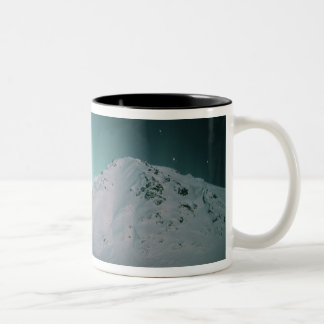 Aurora Borealis, near Palmer, January 17/18, Two-Tone Coffee Mug