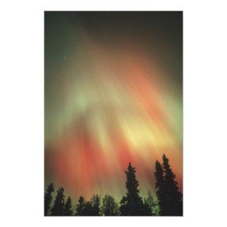 Aurora Borealis, Northern Lights, Fairbanks Photo Print