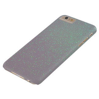 Aurora Borealis Northern Lights IrridescentGlitter Barely There iPhone 6 Plus Case