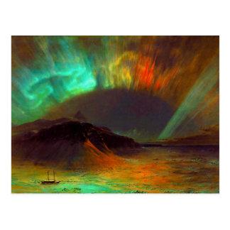 Aurora Borealis,  Northern Lights Postcard