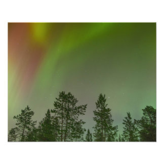 Aurora Borealis Northern Lights Skies Glow Sparkle 11.5 Cm X 14 Cm Flyer