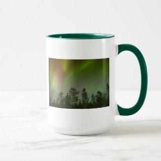 Aurora Borealis Northern Lights Skies Glow Sparkle Mug