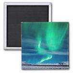 Aurora Borealis over Mosfellsheiði Refrigerator Magnet