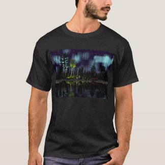 Aurora campfire. T-Shirt