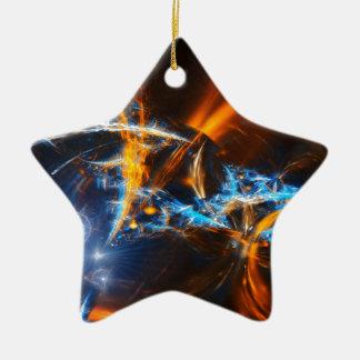 Aurora Ceramic Star Decoration