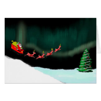 Aurora Christmas Card